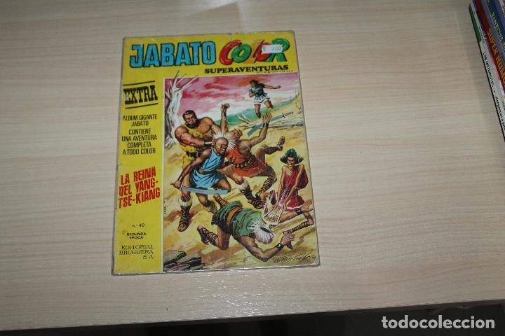 JABATO COLOR SUPER AVENTURAS EXTRA Nº 40, EDITORIAL BRUGUERA (Tebeos y Comics - Bruguera - Jabato)