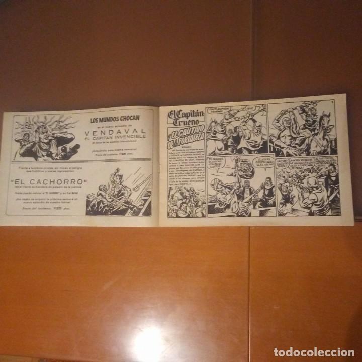 Tebeos: CAPITAN TRUENO. EL CAUTIVO DE LA FORTALEZA - Foto 2 - 187451668