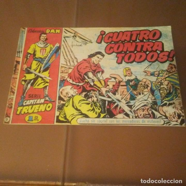 CAPITAN TRUENO.CUATRO CONTRA TODOS. (Tebeos y Comics - Bruguera - Capitán Trueno)