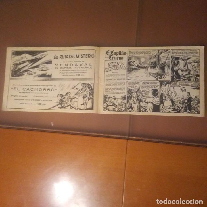 Tebeos: CAPITAN TRUENO.CUATRO CONTRA TODOS. - Foto 2 - 187452293