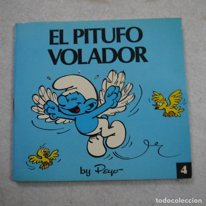 MINICUENTOS PITUFOS N.º 4. EL PITUFO VOLADOR - BRUGUERA - 1981 - 1.ª EDICION (Tebeos y Comics - Bruguera - Otros)