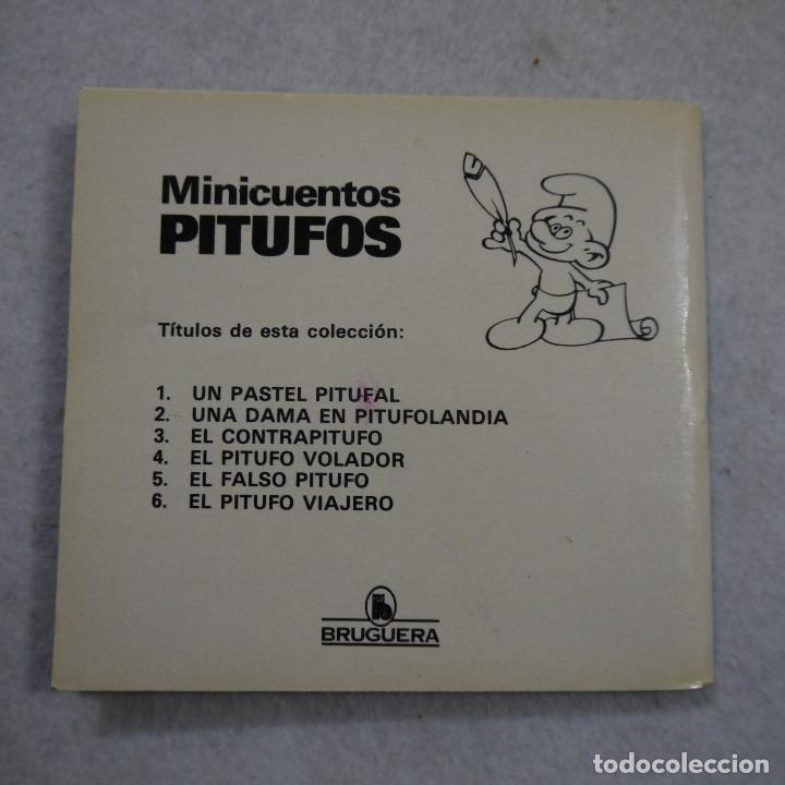 Tebeos: MINICUENTOS PITUFOS N.º 4. EL PITUFO VOLADOR - BRUGUERA - 1981 - 1.ª EDICION - Foto 3 - 187458528