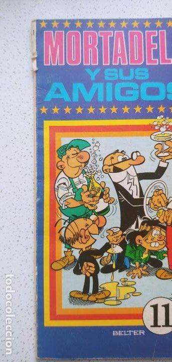 Tebeos: Oye Mira nº 11 Mortadelo y sus amigos Belter Bruguera - Foto 4 - 187460896