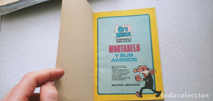 Tebeos: Oye Mira nº 11 Mortadelo y sus amigos Belter Bruguera - Foto 5 - 187460896