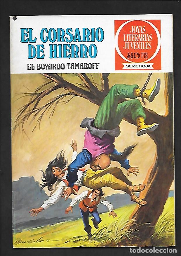 JOYAS LITERARIAS JUVENILES NUMERO 14 EL CORSARIO DE HIERRO EL BOYARDO TAMAROFF (Tebeos y Comics - Bruguera - Corsario de Hierro)