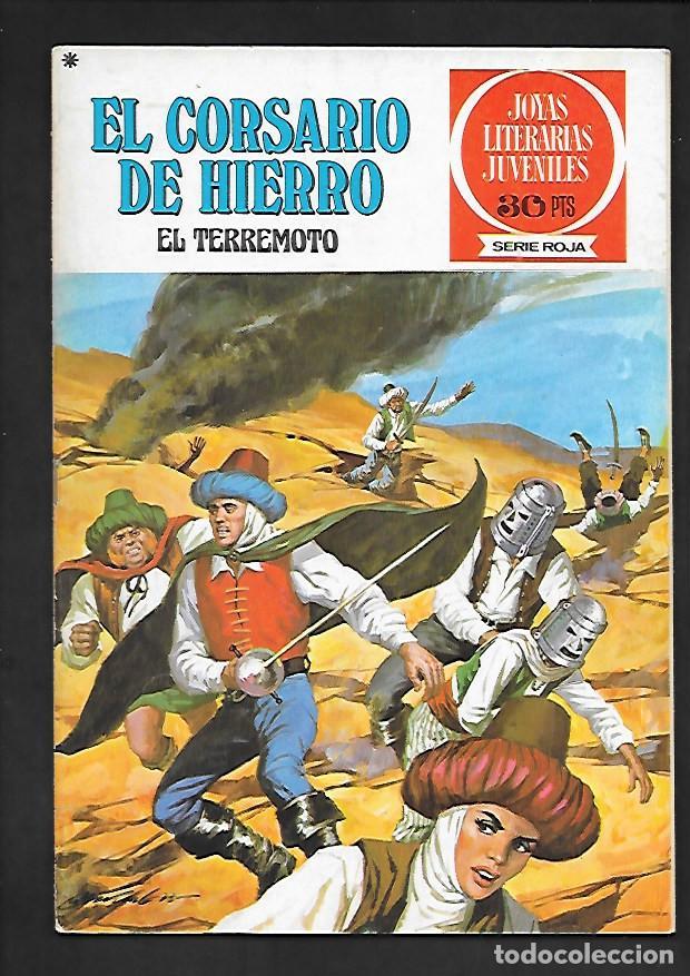 JOYAS LITERARIAS JUVENILES NUMERO 18 EL CORSARIO DE HIERRO EL TERREMOTO (Tebeos y Comics - Bruguera - Corsario de Hierro)