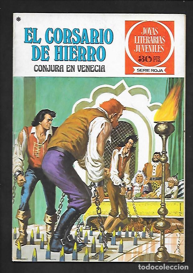 JOYAS LITERARIAS JUVENILES NUMERO 19 EL CORSARIO DE HIERRO CONJURA EN VENECIA (Tebeos y Comics - Bruguera - Corsario de Hierro)