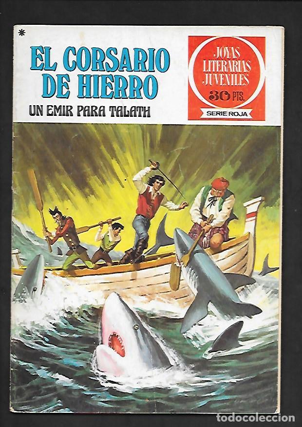 JOYAS LITERARIAS JUVENILES NUMERO 23 EL CORSARIO DE HIERRO UN EMIR PARA TALATH (Tebeos y Comics - Bruguera - Corsario de Hierro)