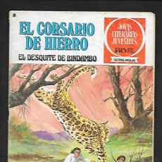 Tebeos: JOYAS LITERARIAS JUVENILES NUMERO 24 EL CORSARIO DE HIERRO EL DESQUITE DE BINDAMBO. Lote 187465612