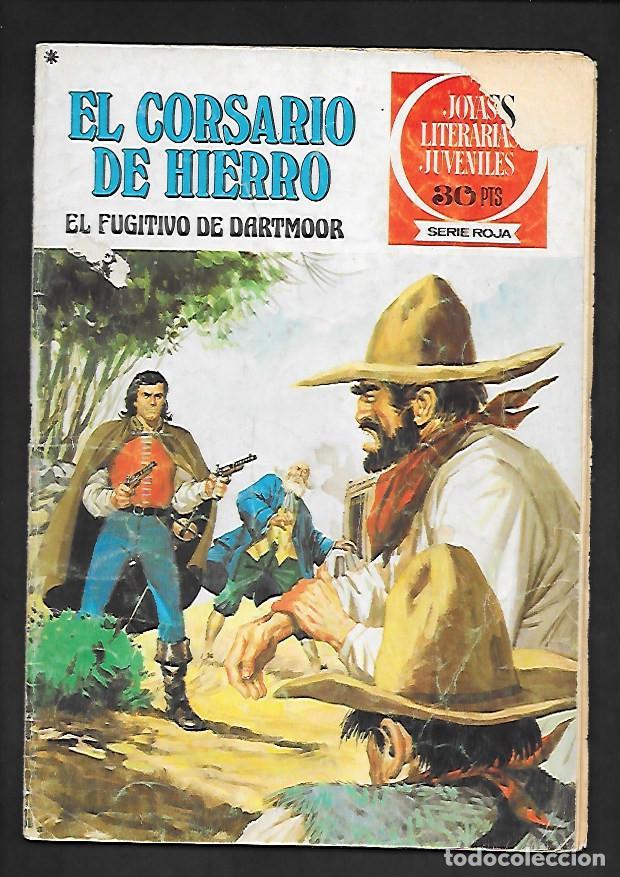 JOYAS LITERARIAS JUVENILES NUMERO 26 EL CORSARIO DE HIERRO EL FUGITIVO DE DARTMOOR (Tebeos y Comics - Bruguera - Corsario de Hierro)