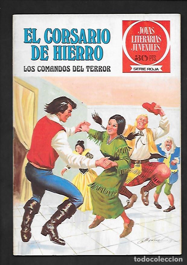 JOYAS LITERARIAS JUVENILES NUMERO 31 EL CORSARIO DE HIERRO LOS COMANDOS DEL TERROR (Tebeos y Comics - Bruguera - Corsario de Hierro)