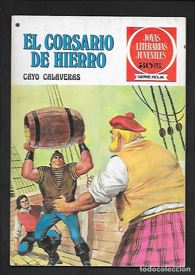 JOYAS LITERARIAS JUVENILES NUMERO 33 EL CORSARIO DE HIERRO CAYO CALAVERAS (Tebeos y Comics - Bruguera - Corsario de Hierro)