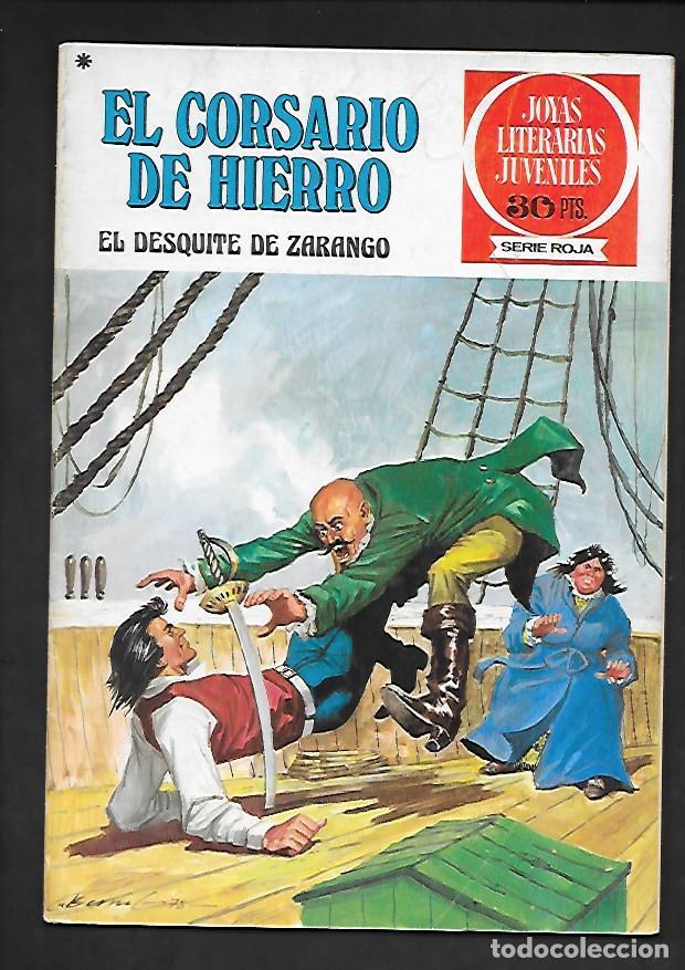 JOYAS LITERARIAS JUVENILES NUMERO 34 EL CORSARIO DE HIERRO EL DESQUITE DE ZARANGO (Tebeos y Comics - Bruguera - Corsario de Hierro)