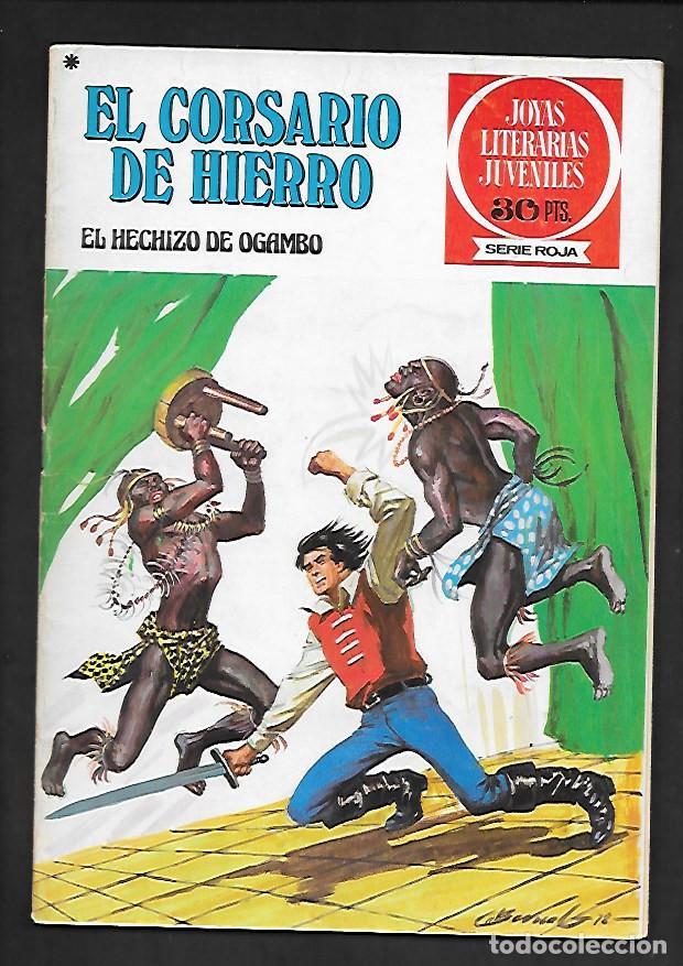 JOYAS LITERARIAS JUVENILES NUMERO 36 EL CORSARIO DE HIERRO EL HECHIZO DE OGAMBO (Tebeos y Comics - Bruguera - Corsario de Hierro)