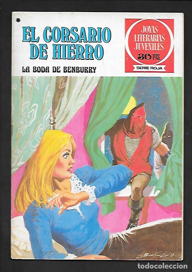 JOYAS LITERARIAS JUVENILES NUMERO 41 EL CORSARIO DE HIERRO LA BODA DE BENBURRY (Tebeos y Comics - Bruguera - Corsario de Hierro)