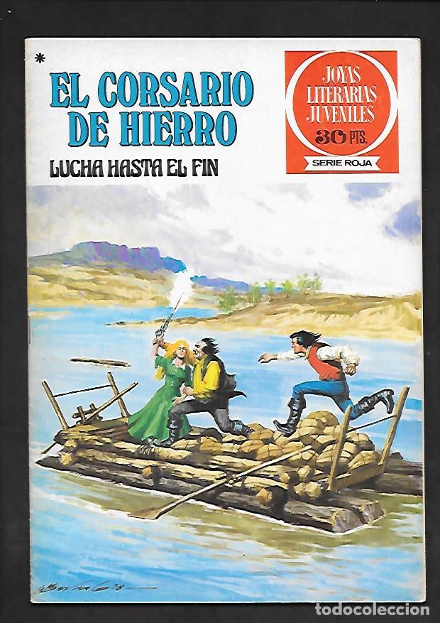 JOYAS LITERARIAS JUVENILES NUMERO 45 EL CORSARIO DE HIERRO LUCHA HASTA EL FIN (Tebeos y Comics - Bruguera - Corsario de Hierro)