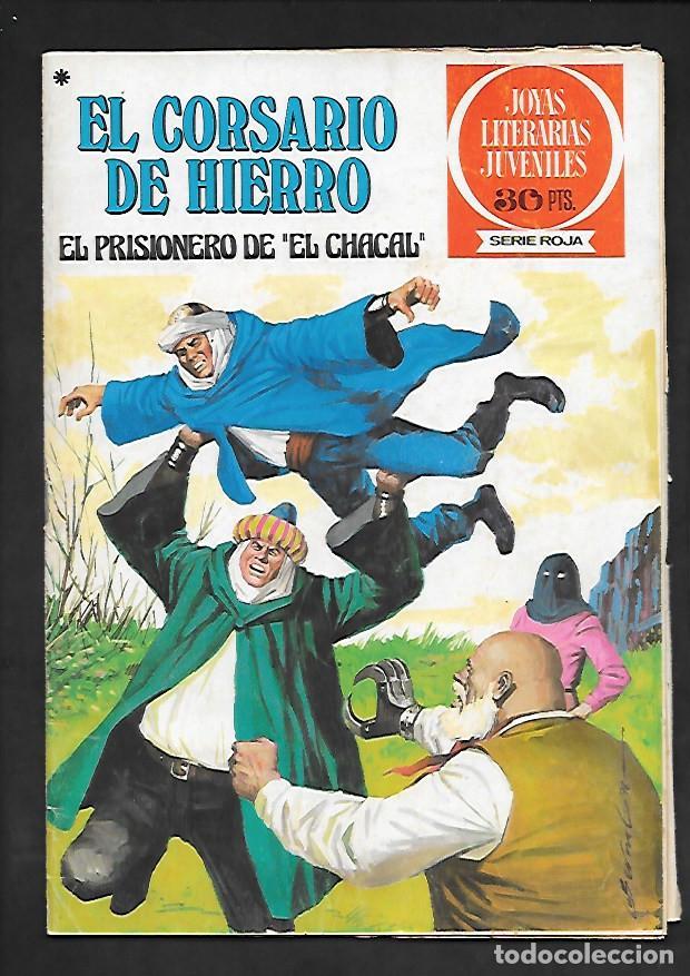 JOYAS LITERARIAS JUVENILES NUMERO 47 EL CORSARIO DE HIERRO EL PRISIONERO DE EL CHACAL (Tebeos y Comics - Bruguera - Corsario de Hierro)