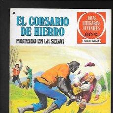 Tebeos: JOYAS LITERARIAS JUVENILES NUMERO 48 EL CORSARIO DE HIERRO MISTERIO EN LA SELVA. Lote 187473666