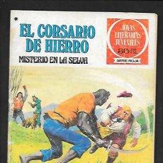 Tebeos: JOYAS LITERARIAS JUVENILES NUMERO 48 EL CORSARIO DE HIERRO MISTERIO EN LA SELVA. Lote 187473747