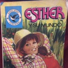Tebeos: ESTHER Y SU MUNDO - SUPER JOYAS - FEMENINAS - LA VISITA DEL ABUELO. Lote 187525726