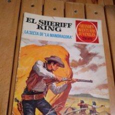 Tebeos: EL SHERIFF KING Nº 30 - LA SECTA DE LA MANDRÁGORA - GRANDES AVENTURAS JUVENILES. Lote 187546318