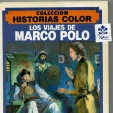Tebeos: LOS VIAJES DE MARCO POLO / COLECCIÓN HISTORIAS COLOR / BRUGUERA /ANTONIO BOSCH PENALVA JESÚS BLASCO. Lote 187563693