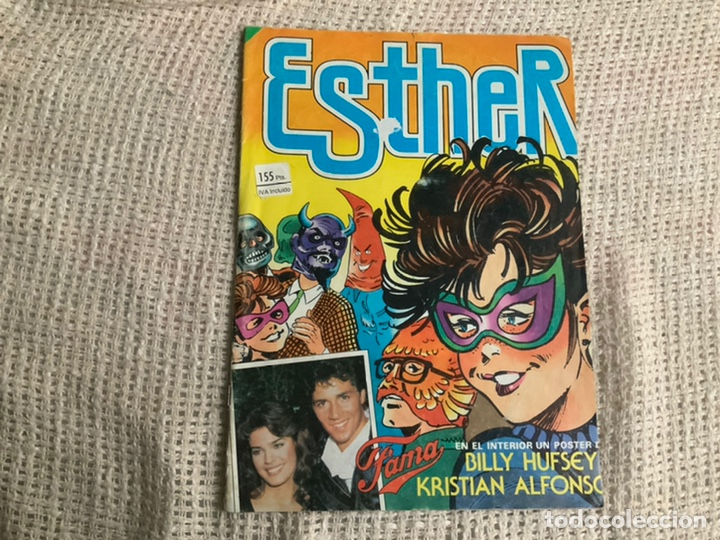 ESTHER Nº 69 / CONTIENE POSTER DE BILLY HUFSEY KRISTIAN ALFONSO (Tebeos y Comics - Bruguera - Esther)