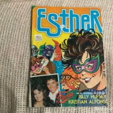 Tebeos: ESTHER Nº 69 / CONTIENE POSTER DE BILLY HUFSEY KRISTIAN ALFONSO. Lote 20260899