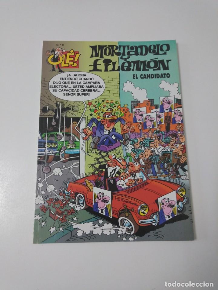 MORTADELO Y FILEMÓN NÚMERO 9 COLECCIÓN OLÉ AÑO 2000 TERCERA EDICIÓN (Tebeos y Comics - Bruguera - Mortadelo)