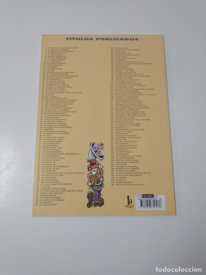 Tebeos: Mortadelo y Filemón número 9 Colección Olé año 2000 tercera edición - Foto 2 - 188570042