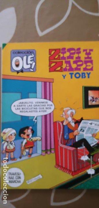 COLECCIÓN OLÉ Nº 281 ZIPI Y ZAPE Y TOBY POR ESCOBAR BRUGUERA 1ª EDICIÓN 1983 (Tebeos y Comics - Bruguera - Ole)