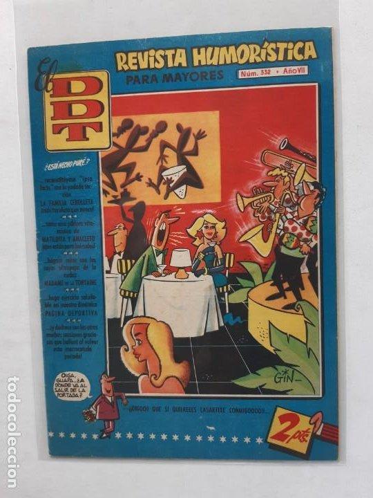 EL DDT Nº 332 BRUGUERA EXCELENTE ESTADO (Tebeos y Comics - Bruguera - DDT)