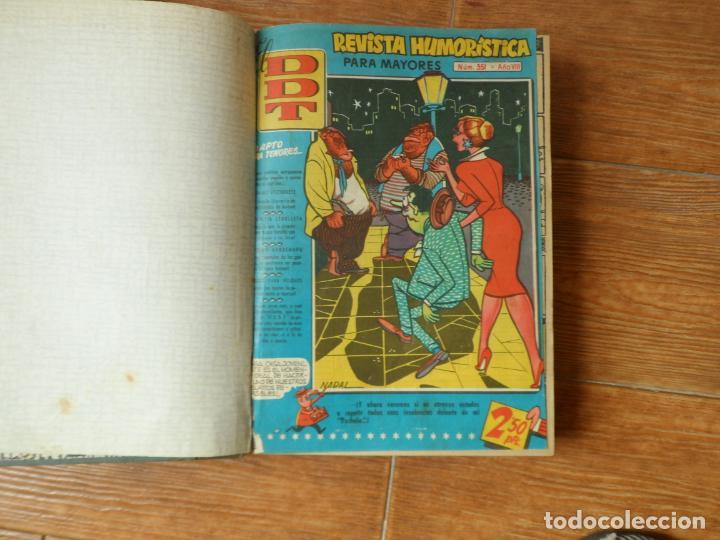 DDT DEL Nº 351 AL 400 EN UN TOMO EDITORIAL BRUGUERA (Tebeos y Comics - Bruguera - DDT)