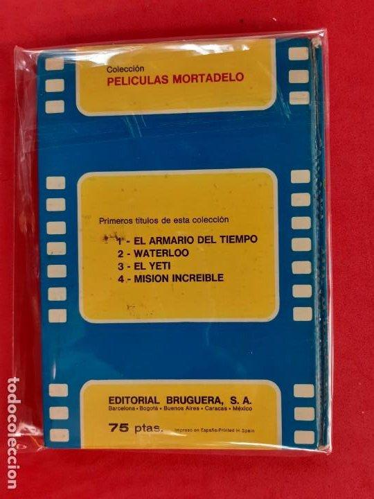 Tebeos: PELICULAS MORTADELO Nº 1 EL ARMARIO DEL TIEMPO BRUGUERA 1973 - Foto 2 - 188795177