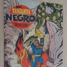 Tebeos: EL TENIENTE NEGRO NÚM. 13. FRENTE AL FIN. ORIGINAL. EDITA BRUGUERA 1962. BUEN ESTADO. Lote 188823417