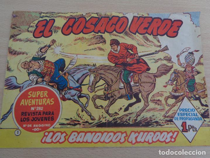 EL COSACO VERDE NÚM. 1. LOS BANDIDOS KURDOS. ORIGINAL. EDITA BRUGUERA. BUEN ESTADO (Tebeos y Comics - Bruguera - Cosaco Verde)