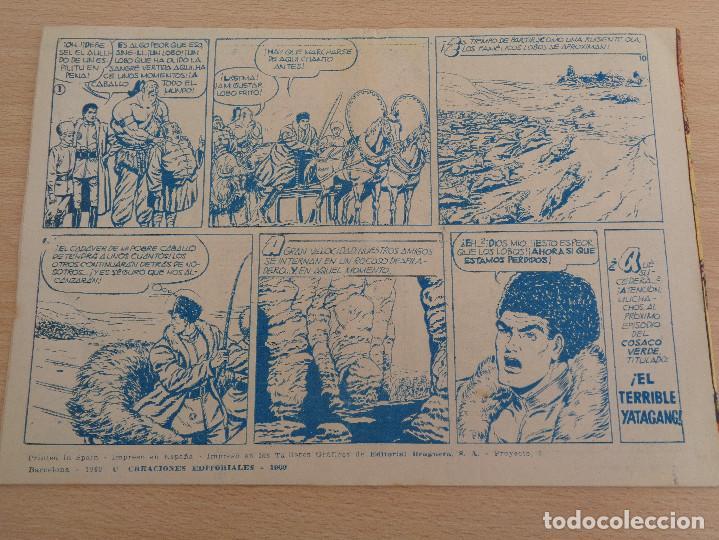Tebeos: El Cosaco Verde núm. 1. Los Bandidos Kurdos. Original. Edita Bruguera. Buen estado - Foto 2 - 188826125