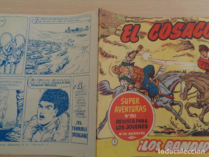 Tebeos: El Cosaco Verde núm. 1. Los Bandidos Kurdos. Original. Edita Bruguera. Buen estado - Foto 3 - 188826125