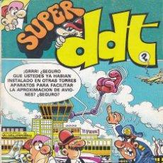 BDs: COMIC COLECCION SUPER DDT Nº 126. Lote 189102377