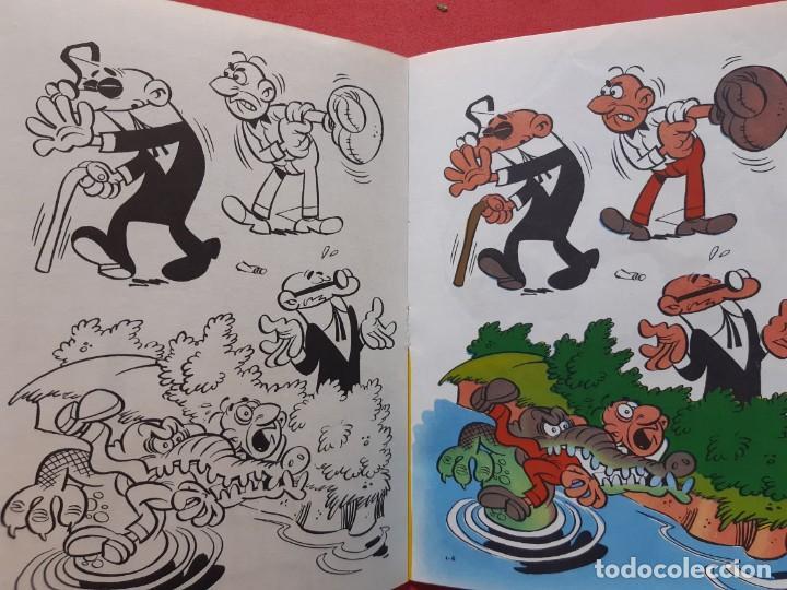 Tebeos: Cuadernos de pintar Mortadelo nº 1 Sin usar y en excelente estado ver fotos - Foto 3 - 189103806