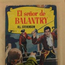 Tebeos: EL SEÑOR DE BALANTRY (CÓMIC, LIBRO). Lote 189203728