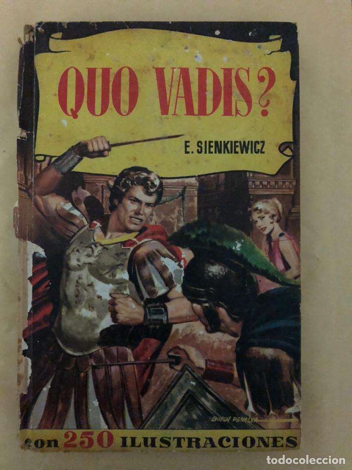 QUO VADIS? E. SIENKIEWICZ (CÓMIC, LIBRO) (Tebeos y Comics - Bruguera - Otros)