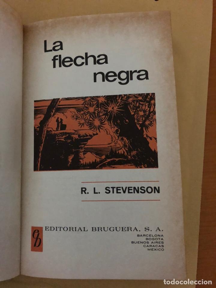 Tebeos: LA FLECHA NEGRA •_•Robert L.Stevenson (cómic, libro) - Foto 2 - 189228250