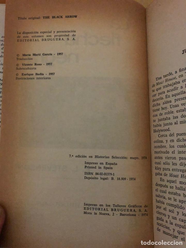 Tebeos: LA FLECHA NEGRA •_•Robert L.Stevenson (cómic, libro) - Foto 3 - 189228250