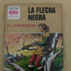 Tebeos: LA FLECHA NEGRA •_•ROBERT L.STEVENSON (CÓMIC, LIBRO). Lote 189228250