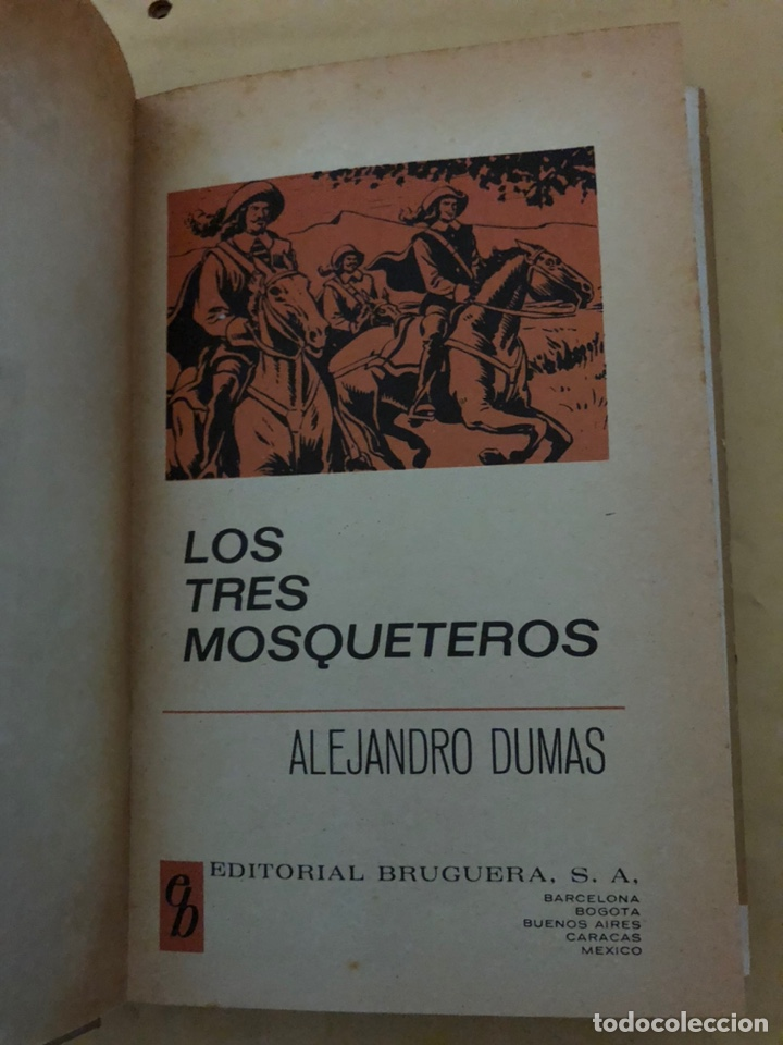 Tebeos: LOS TRES MOSQUETEROS de Alejandro Dumas (cómic, libro) - Foto 3 - 189229101