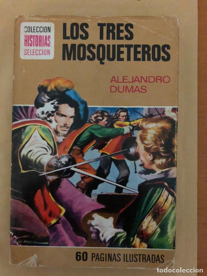 LOS TRES MOSQUETEROS DE ALEJANDRO DUMAS (CÓMIC, LIBRO) (Tebeos y Comics - Bruguera - Historias Selección)