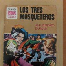 Tebeos: LOS TRES MOSQUETEROS DE ALEJANDRO DUMAS (CÓMIC, LIBRO). Lote 189229101