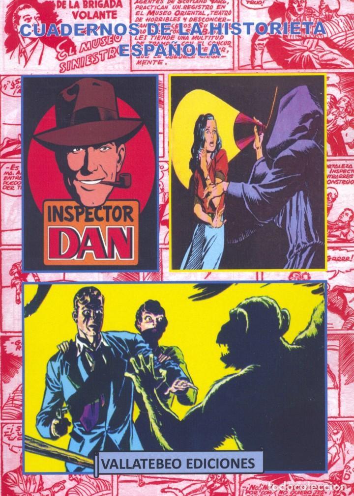 INSPECTOR DAN TOMO IV. COLECCIÓN CUADERNOS DE LA HISTORIETA ESPAÑOLA. AUTOR: FERNANDO BERNABÓN (Tebeos y Comics - Bruguera - Inspector Dan)