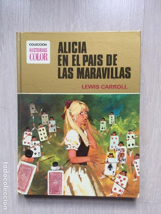 ALICIA EN EL PAIS DE LAS MARAVILLAS DE LEWIS CARROLL, ILUSTRACIONES DE TRINI TINTURÉ (Tebeos y Comics - Bruguera - Historias Selección)